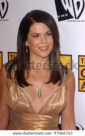 Jan 10, 2005; Los Angeles, CA:  Actress LAUREN GRAHAM at the 10th Annual Critcs' Choice Awards at the Wiltern Theatre, Los Angeles. - stock photo