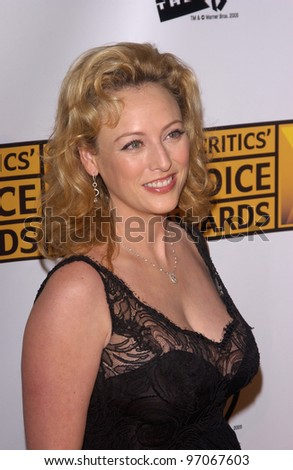 Jan 10, 2005; Los Angeles, CA:  Actress VIRGINIA MADSEN at the 10th Annual Critcs' Choice Awards at the Wiltern Theatre, Los Angeles. - stock photo