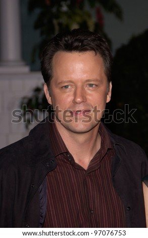 Jan 23, 2005; Los Angeles, CA: Desperate Housewives star STEVEN CULP at ABC TV's All Star Party on the Desperate Housewive lot at Universal Studios, Hollywood. - stock photo