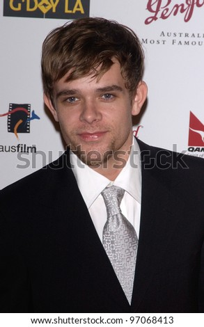 Jan 15, 2005; Los Angeles, CA:  NICK STAHL at the G'Day LA Penfolds Gala honoring Australian talent. - stock photo