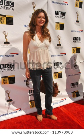 Jane Leeves at the 5th Annual BAFTA-LA Tea Party honoring Emmy Nominees. Wattles Mansion, Los Angeles, CA. 09-15-07 - stock photo