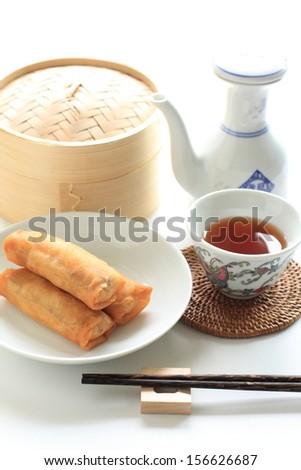 Japanese breakfast - stock photo