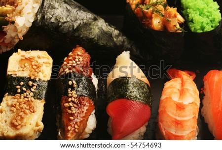 Japanese food. Close up. - stock photo
