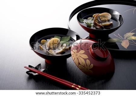 japanese foods - stock photo
