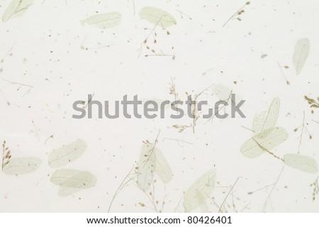 Japanese handmade paper, texture background - stock photo