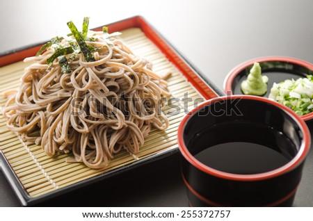 japanese soba - stock photo