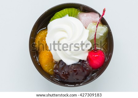 Japanese sweets - stock photo