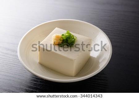 japanese tofu - stock photo