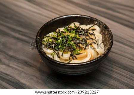 Japanese Udon Noodle - stock photo