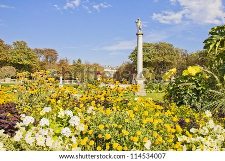 Jardin du Luxembourg, Paris - stock photo