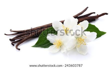 Jasmine with vanilla - stock photo