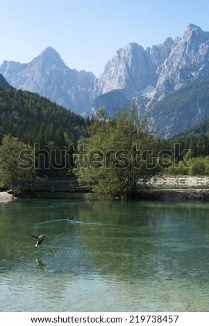 Jasna lake - stock photo