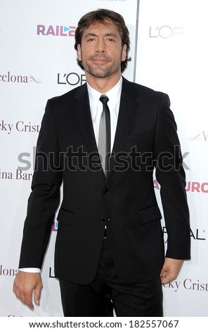 Javier Bardem at The Premiere of VICKY CRISTINA BARCELONA, Mann's Village Theatre in Westwood, Los Angeles, CA, August 04, 2008 - stock photo