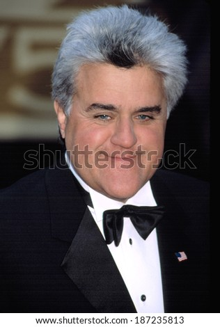 Jay Leno at NBC 75th Anniversary, NY 5/5/2002 - stock photo