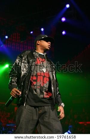 "Jay-Z, Jam'n 94.5 ""Monster Jam"" October 27th, 2008, TD Banknorth Garden, Boston, MA - stock photo"