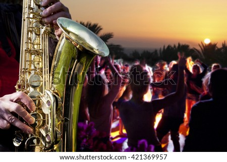 Jazz. - stock photo