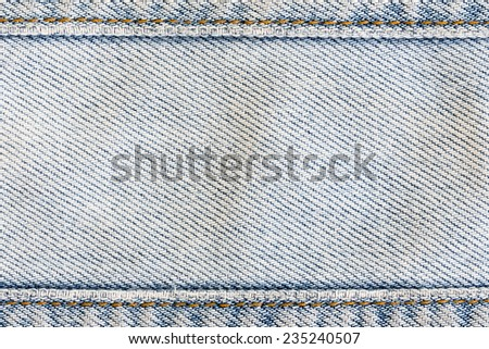 jean texture clothing fashion background of denim textile industrial - stock photo
