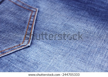 jeans as a background - stock photo