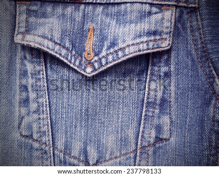 jeans as a background texture. - stock photo