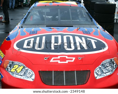 Jeff Gordon's Nascar, Race Car - stock photo
