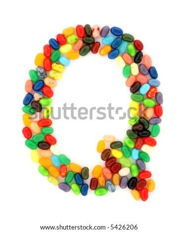 jellybean Q - stock photo