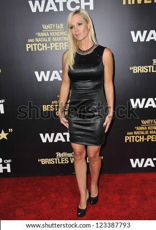 "Jennie Garth at the premiere of ""End of Watch"" at the Regal Cinemas LA Live. September 17, 2012  Los Angeles, CA Picture: Paul Smith - stock photo"