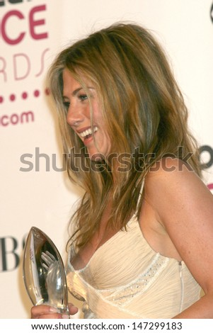 Jennifer Aniston 2007 People's Choice Awards Shrine Auditorium Los Angeles,  CA January 8, 2007 - stock photo