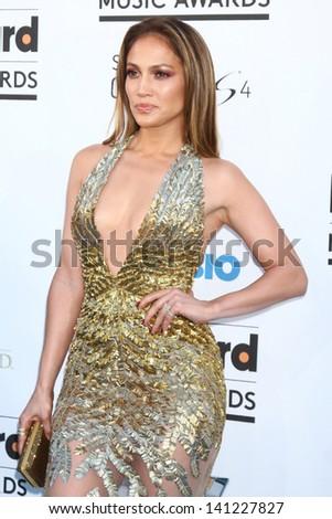 Jennifer Lopez at the 2013 Billboard Music Awards Arrivals, MGM Grand, Las Vegas, NV 05-19-13 - stock photo
