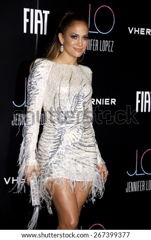 Jennifer Lopez at the Fiat Presents Jennifer Lopez's Official American Music Awards After Party held at the Greystone Manor Supperclub in West Hollywood on November 20, 2011.  - stock photo