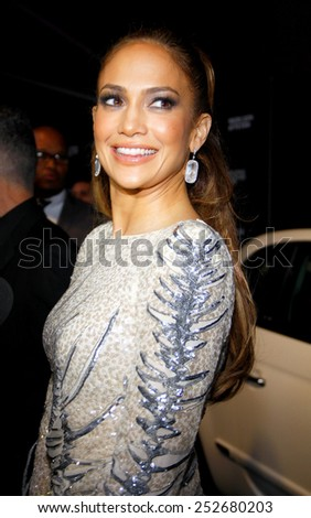 Jennifer Lopez at the JLO's Private party after the AMA's held at the Greystone Manor Supper Club in West Hollywood, California, United States on November 20, 2011.  - stock photo