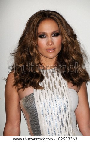 Jennifer Lopez at the 52nd Annual Grammy Awards, Press Room, Staples Center, Los Angeles, CA. 01-31-10 - stock photo