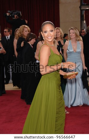 JENNIFER LOPEZ at the 78th Annual Academy Awards at the Kodak Theatre in Hollywood. March 5, 2006  Los Angeles, CA  2006 Paul Smith / Featureflash - stock photo