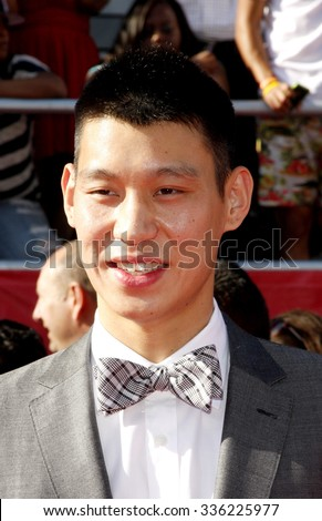Jeremy Lin at the 2012 ESPY Awards held at the Nokia Theatre L.A. Live in Los Angeles, USA on July 11, 2012. - stock photo