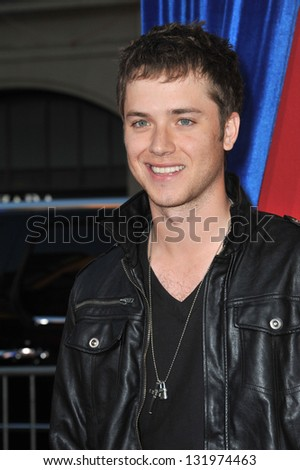 """Jeremy Sumpter at the world premiere of """"The Incredible Burt Wonderstone"""" at the Chinese Theatre, Hollywood. March 11, 2013  Los Angeles, CA Picture: Paul Smith - stock photo"""