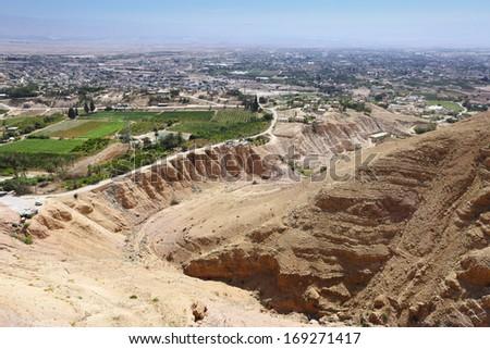 Jericho Holy Land - stock photo
