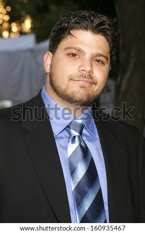 Jerry Ferrara at HBO Season 2 Premiere of ENTOURAGE, The Tent at Lincoln Center Damrosch Park, New York, NY, June 02, 2005 - stock photo
