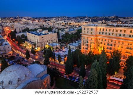 Jerusalem - stock photo