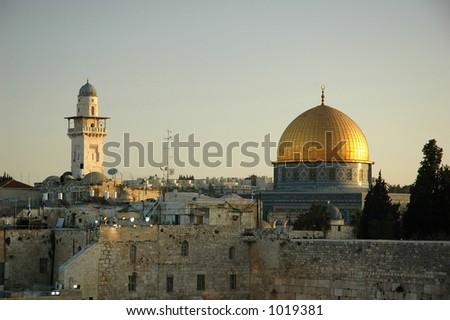 Jerusalem - El-Aktza - stock photo