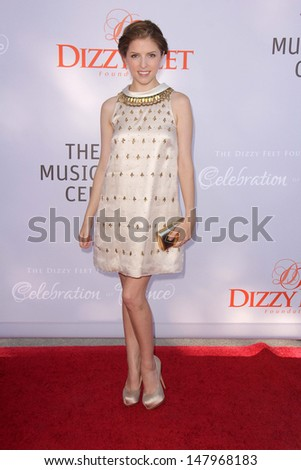 Jesse SpencerLOS ANGELES - JUL 27:  Anna Kendrick arrives at the 3rd Annual Celebration of Dance Gala at the Dorothy Chandler Pavilion on July 27, 2013 in Los Angeles, CA - stock photo