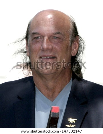 Jesse Ventura at the Eric Braeden receives a star on the  Hollywood Walk of Fame Los Angeles, CA July 20, 2007 - stock photo