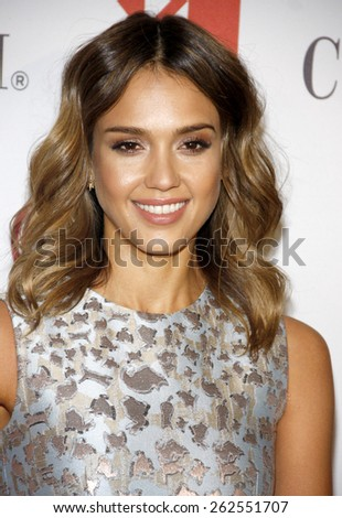 Jessica Alba at the Helping Hand Of Los Angeles Mother's Day Luncheon held at the Beverly Hilton Hotel in Los Angeles, United States, 090514.  - stock photo