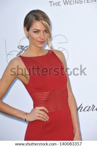 Jessica Hart at amfAR's 20th Cinema Against AIDS Gala at the Hotel du Cap d'Antibes, France May 23, 2013  Antibes, France - stock photo