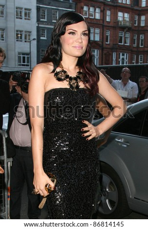 Jessie J arriving for the 2011 Glamour Awards, Berkeley Square, London. 07/06/2011 Picture by: Alexandra Glen / Featureflash - stock photo
