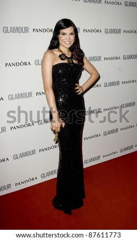 Jessie J arriving for the 2011 Glamour Awards, Berkeley Square, London. 07/06/2011 Picture by: Simon Burchell / Featureflash - stock photo
