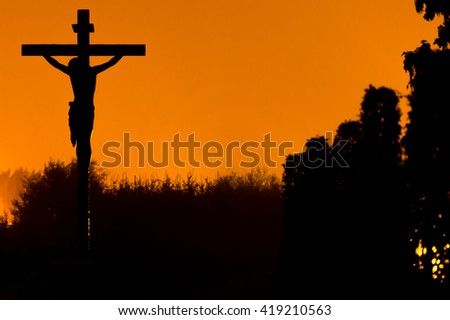 Jesus Christ. - stock photo