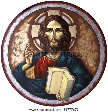 Jesus Christ Panto Creator - stock photo