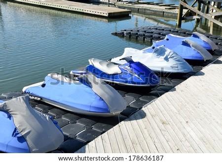 Jet Ski rental at Florida, USA - stock photo