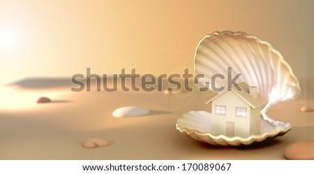Jewel House - stock photo