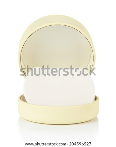 Jewelry box isolated on white  - stock photo