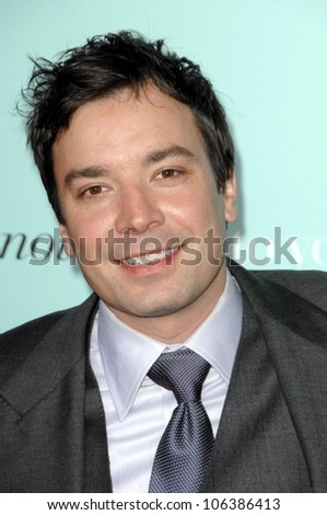 Jimmy Fallon at the World Premiere of 'He's Just Not That Into You'. Grauman's Chinese Theatre, Hollywood, CA. 02-02-09 - stock photo